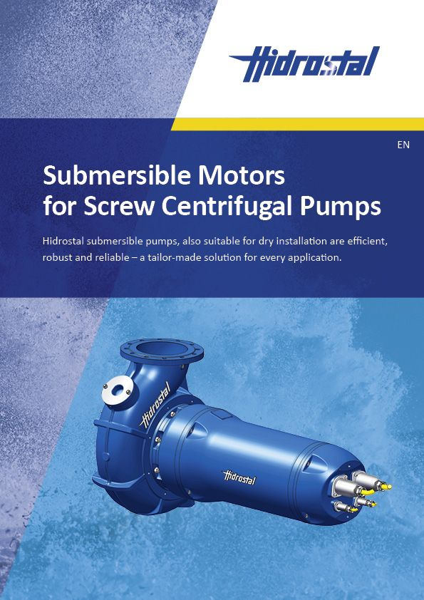 Submersible Motors for Screw Centrifugal Pumps