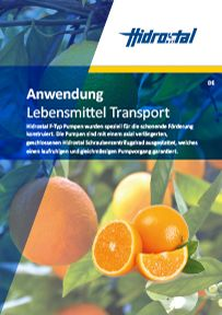Lebensmittel Transport